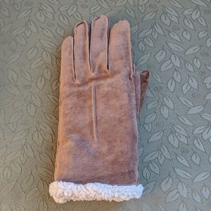 Genuine leather(suede) gloves